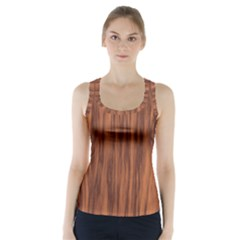 Texture Tileable Seamless Wood Racer Back Sports Top