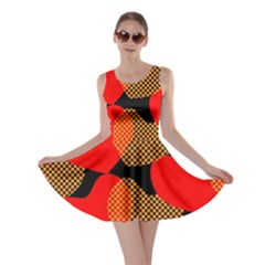 Heart Pattern Skater Dress