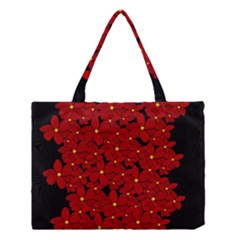 Red bouquet  Medium Tote Bag