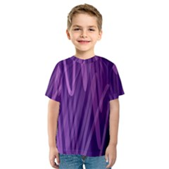 The Background Design Kids  Sport Mesh Tee