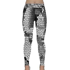 Mosaic Stones Glass Pattern Classic Yoga Leggings