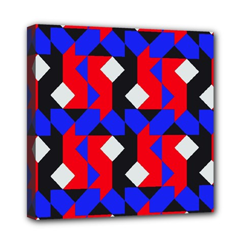 Pattern Abstract Artwork Mini Canvas 8  x 8
