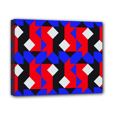 Pattern Abstract Artwork Canvas 10  x 8