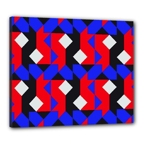 Pattern Abstract Artwork Canvas 24  x 20