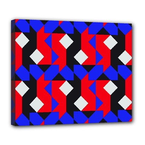 Pattern Abstract Artwork Deluxe Canvas 24  x 20