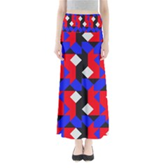 Pattern Abstract Artwork Maxi Skirts