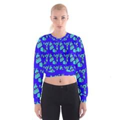 Winter Women s Cropped Sweatshirt