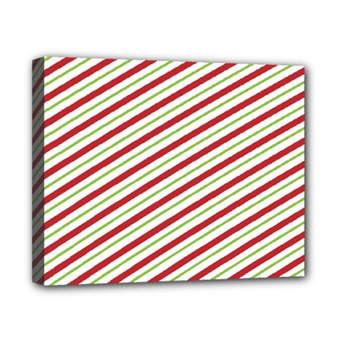 Stripes Canvas 10  x 8