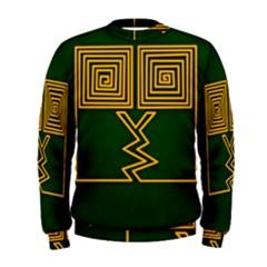 One Stroke Owl Men s Sweatshirt