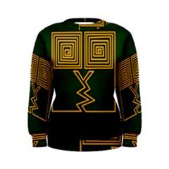 One Stroke Owl Women s Sweatshirt