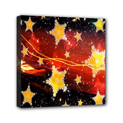 Holiday Space Mini Canvas 6  x 6