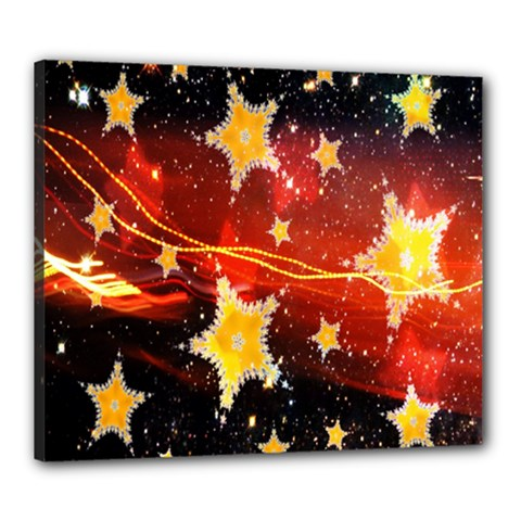 Holiday Space Canvas 24  x 20