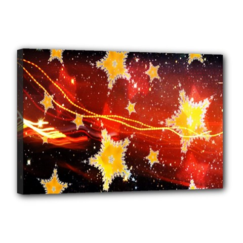 Holiday Space Canvas 18  x 12