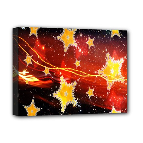 Holiday Space Deluxe Canvas 16  X 12