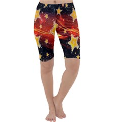 Holiday Space Cropped Leggings