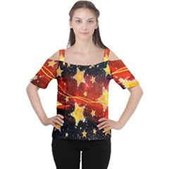 Holiday Space Women s Cutout Shoulder Tee