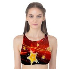 Holiday Space Tank Bikini Top