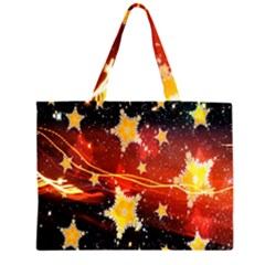 Holiday Space Large Tote Bag