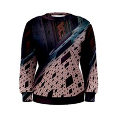 Industry Fractals Geometry Graphic Women s Sweatshirt