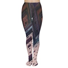 Industry Fractals Geometry Graphic Women s Tights