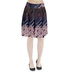 Industry Fractals Geometry Graphic Pleated Skirt