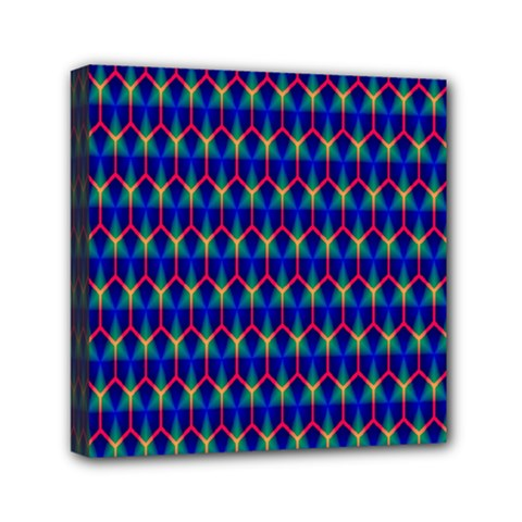Honeycomb Fractal Art Mini Canvas 6  X 6