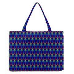 Honeycomb Fractal Art Medium Zipper Tote Bag