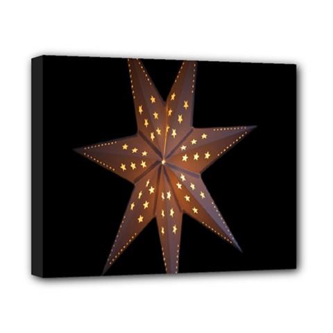 Star Light Decoration Atmosphere Canvas 10  x 8