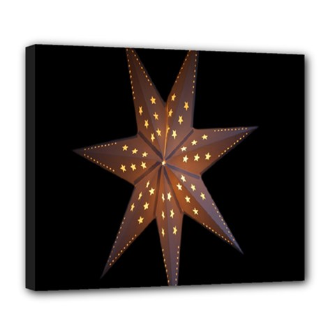 Star Light Decoration Atmosphere Deluxe Canvas 24  x 20