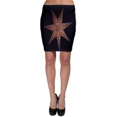 Star Light Decoration Atmosphere Bodycon Skirt