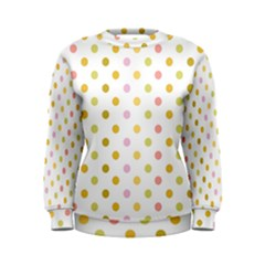 Polka Dots Retro Women s Sweatshirt