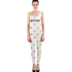 Polka Dots Retro OnePiece Catsuit