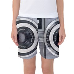Vintage Camera Women s Basketball Shorts