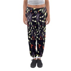Spiders Background Women s Jogger Sweatpants