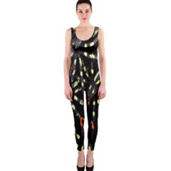 Spiders Background OnePiece Catsuit