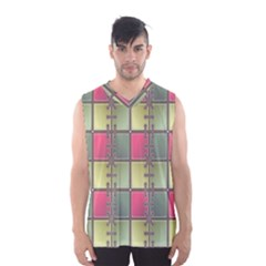 Seamless Pattern Seamless Design Men s Basketball Tank Top