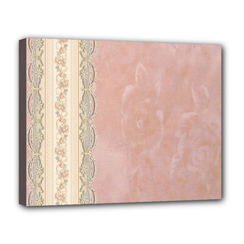 Guestbook Background Victorian Canvas 14  x 11