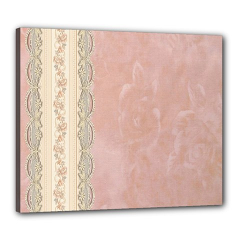 Guestbook Background Victorian Canvas 24  x 20