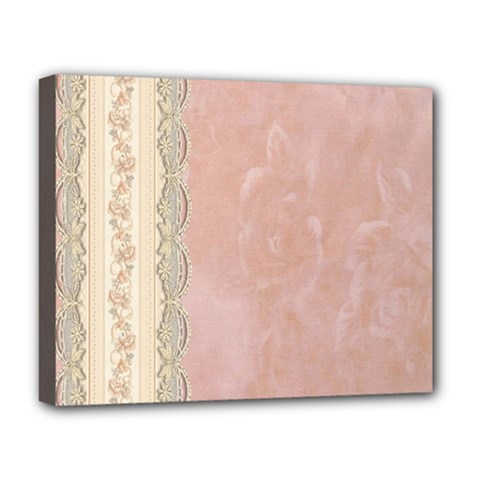 Guestbook Background Victorian Deluxe Canvas 20  x 16