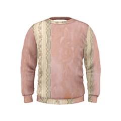 Guestbook Background Victorian Kids  Sweatshirt