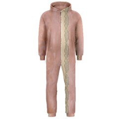 Guestbook Background Victorian Hooded Jumpsuit (Men)