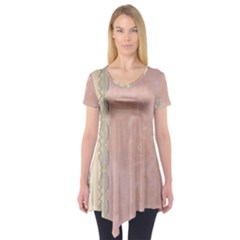 Guestbook Background Victorian Short Sleeve Tunic