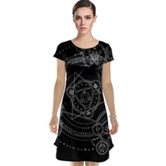 Formal Magic Circle Cap Sleeve Nightdress