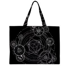 Formal Magic Circle Large Tote Bag