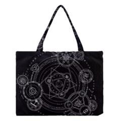 Formal Magic Circle Medium Tote Bag