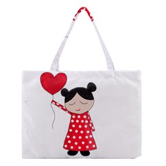 Girl in love Medium Tote Bag