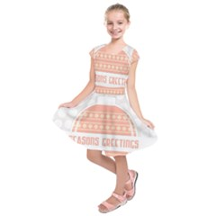 Merry Christmas Kids  Short Sleeve Dress