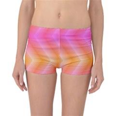 Pattern Background Pink Orange Reversible Bikini Bottoms