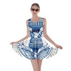 Presidential Inauguration USA Republican President Trump Pence 2017 Logo Skater Dress
