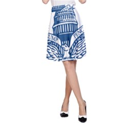 Presidential Inauguration USA Republican President Trump Pence 2017 Logo A-Line Skirt